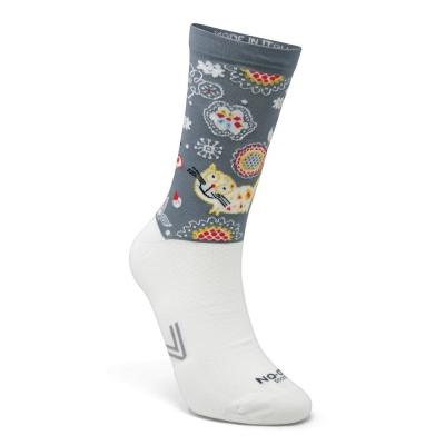 Chaussettes Sixs No-On chats