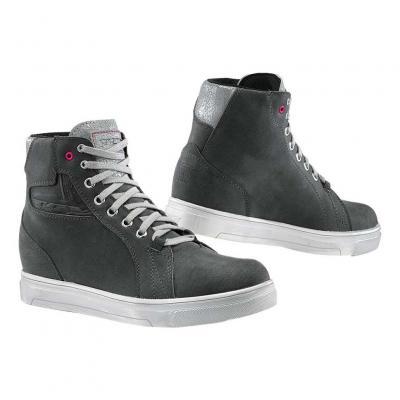 Chaussure cuir femme TCX Street ACE lady WP gris/glacier