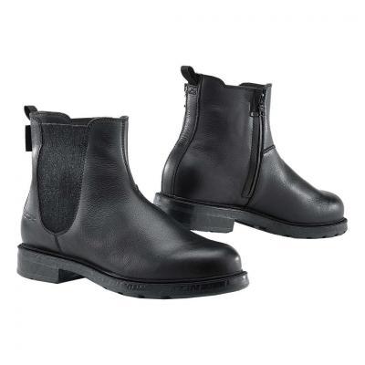 Chaussure cuir TCX Staten WP noir/gris