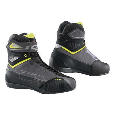 Chaussure textile TCX Rush 2 WP gris/jaune fluo