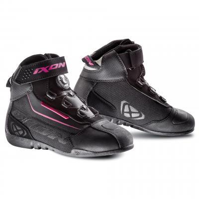 Chaussures femme Ixon Assault EVO noir/fushia