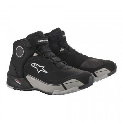 Chaussures moto Alpinestars CR-X Drystar® noir cool/gris