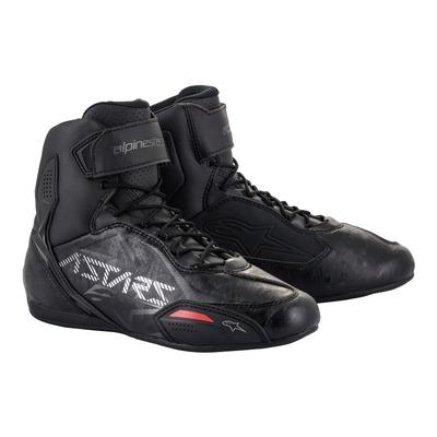 Chaussures moto Alpinestars Faster-3 noir/gun metal