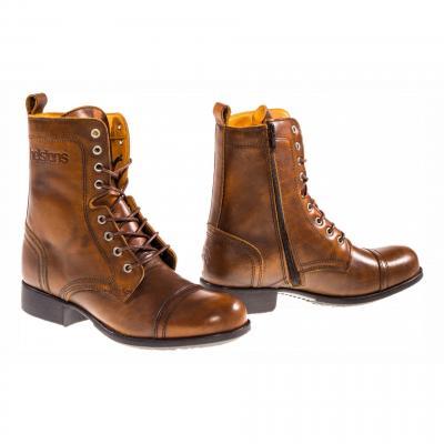 Chaussures moto femme Helstons Lady marron