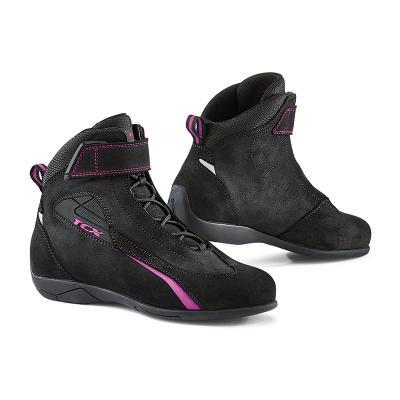 Chaussures moto femme TCX Lady Sport noir/rose