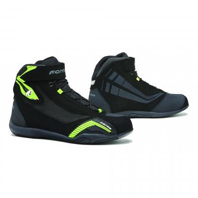 Chaussures moto Forma Genesis noir/jaune fluo