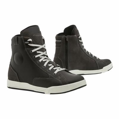 Chaussures moto Forma Lounge gris/blanc