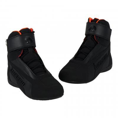 Chaussures moto Furygan Zephyr D3O WP noir/orange