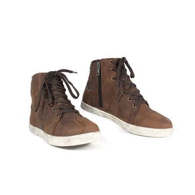 Chaussures moto Harisson Yankee marron