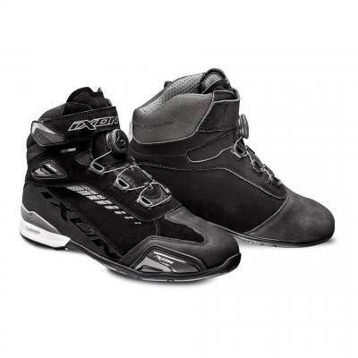 Chaussures moto Ixon Bull Vented noir/gris