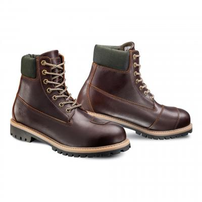 Chaussures moto Ixon Mud marron
