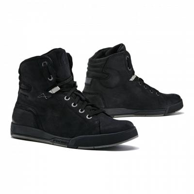 Chaussures moto mixtes Forma Swift Dry WP noir