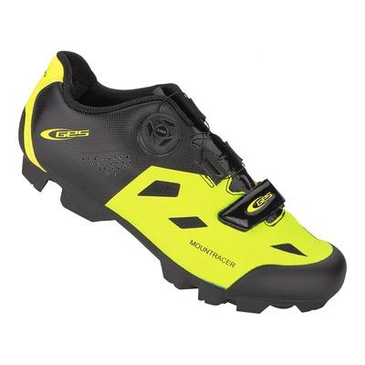 Chaussures VTT GES Mountracer jaune fluo/noir