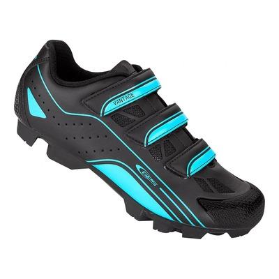 Chaussures VTT GES Vantage noir/bleu sky