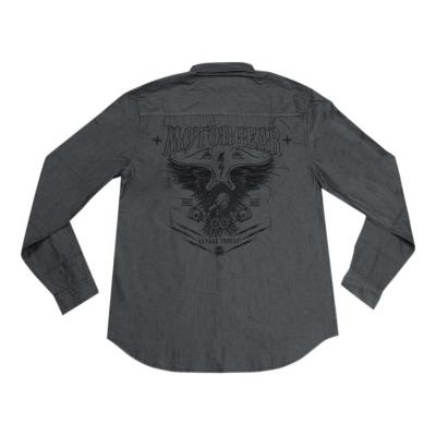 Chemise homme Lethal Threat Eagle Piston gris