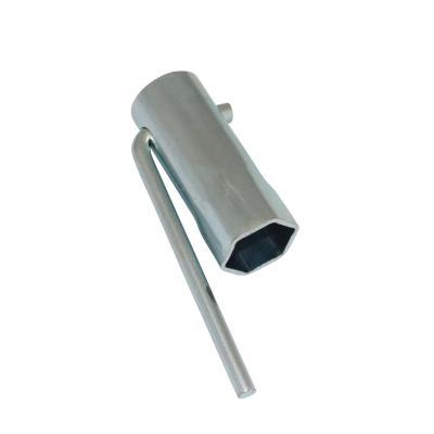 Clé a bougie Buzzetti 21mm l 64mm en tube renforce avec manche pliable