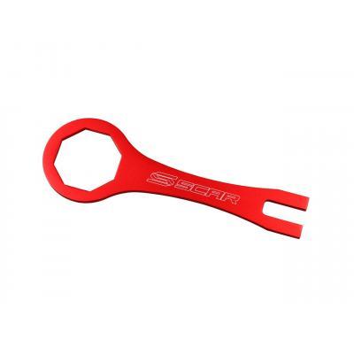 Clé de fourche Scar pour fourche Showa Ø 50 mm 8 pans