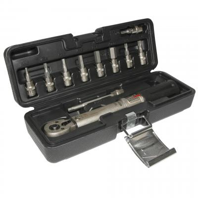Clé dynamométrique 1Tek Tools 2 a 24nm avec douilles allen et torx