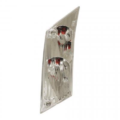 Clignotant arrière droit Piaggio 50-125 ZIP 00- transparent 581316
