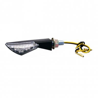 Clignotants Asym noir LED (paire)