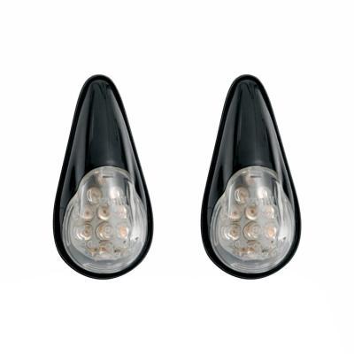Clignotants Chaft Bullet LED noir (paire)