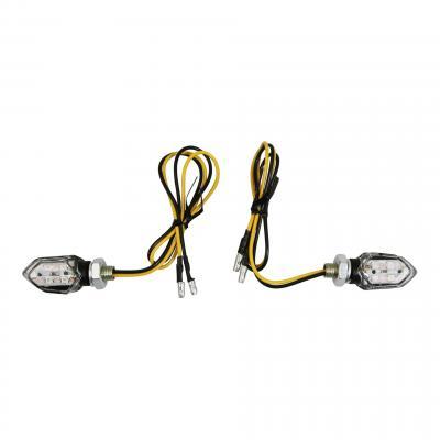 Clignotants LED Avoc Inzay noir / transparent