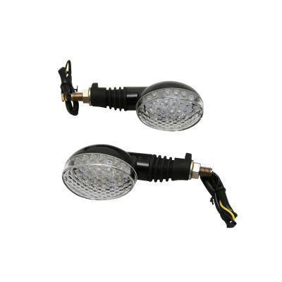 Clignotants LED Avoc Isumi transparent/noir (paire)