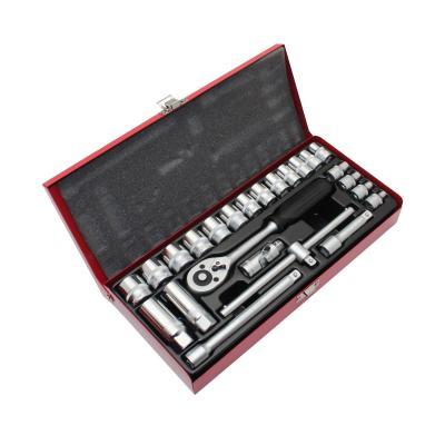 Coffret 24 pièces de Douilles Chrome/Vanadium