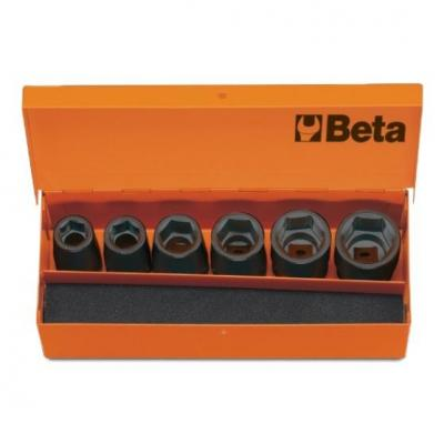 Coffret 6 douilles à chocs Beta 1/2''