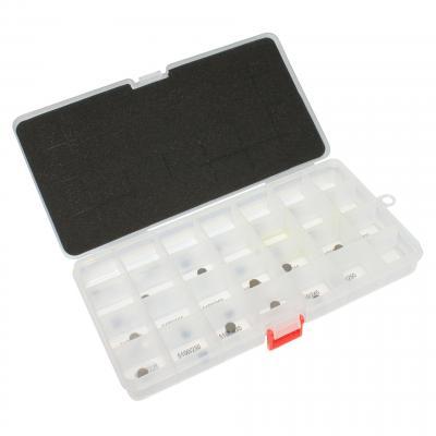 Coffret de 27 pastilles de soupape 1Tek Origine 1,20 a 2,45 mm Yamaha/Honda