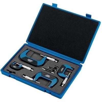 Coffret de 4 micromètres mécaniques Draper