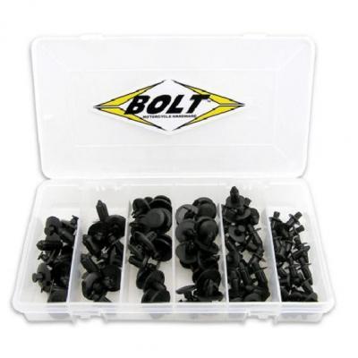 Coffret de rivets en plastique Bolt pour plastiques