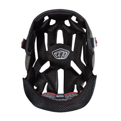 Coiffe de casque Troy Lee Designs Max Airflow pour casque SE4 carbon noir