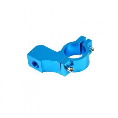 Collier de rétroviseur Tun'R Alu Bleu D.10 pas à droite