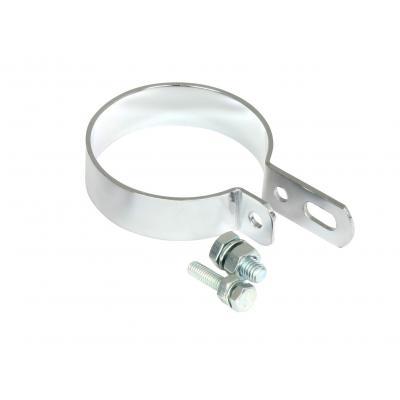 """Collier de silencieux universel fixation centrale diamètre 63.5 mm (2 1/2"""")"""