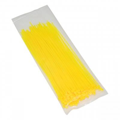 Colliers de serrage Rilsan 2,5x200mm jaune fluo