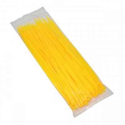 Colliers de serrage Rilsan 3,6x250mm jaune fluo