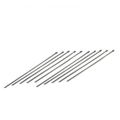 Colliers inox 200mm pour bande thermique d'échappement