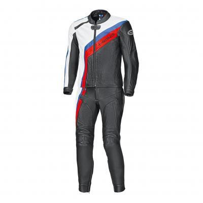 Combinaison cuir 2 piéces Held Medalist noir/blanc/rouge/bleu (standard)