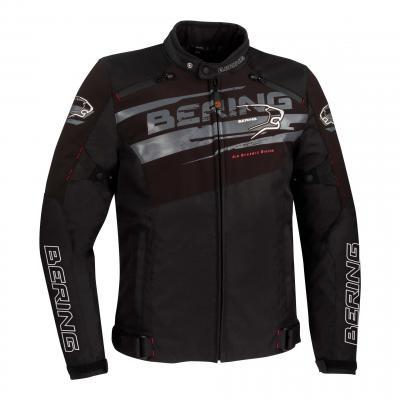 Combinaison cuir Bering Lead-R noir/vert