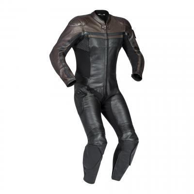 Combinaison cuir Ixon Legendary noir/marron