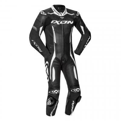 Combinaison cuir Ixon Vortex 2 noir/blanc