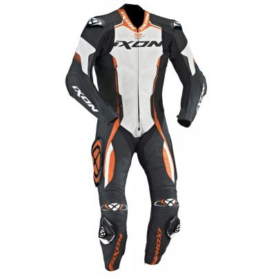 Combinaison cuir Ixon VORTEX noir/blanc/orange