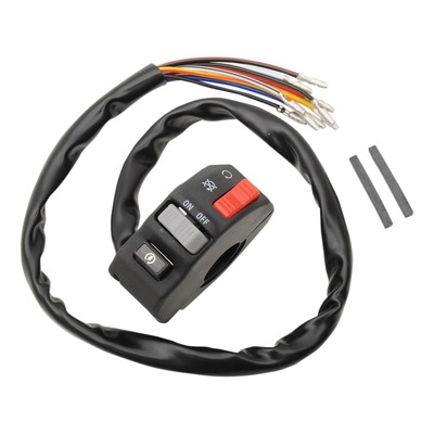 Commodo droit universel EMGO coupe-circuit/interrupteur/démarreur