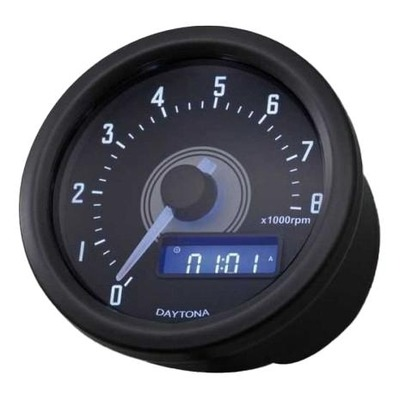 Compte-tours Daytona VELONA 60 noir 8000 trs/mn