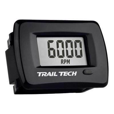 Compteur d'heures / compte tours Trail Tech avec fonction maintenance encastrable