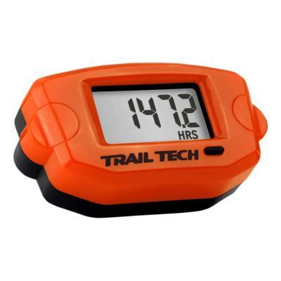 Compteur d'heures / compte tours Trail Tech orange