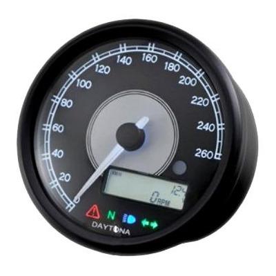 Compteur Daytona Velona Ø 80 mm 260 km/h