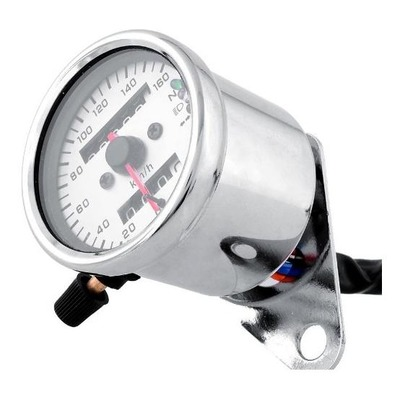 Compteur de vitesse Brazoline Ø 65 mm chromé 160 km/h