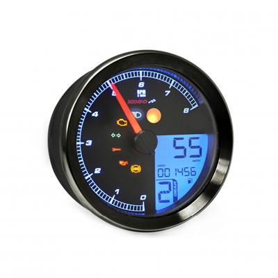 Compteur de vitesse Koso HD-02S noir